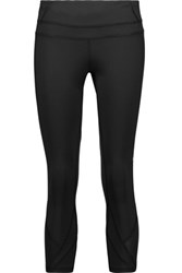 Athletic Propulsion Labs Cropped Stretch Leggings Black