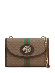 Gucci Tiger Rajah Gg Supreme Leather Bag Beige