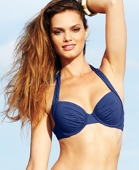 Tommy Bahama Push Up Halter Bikini Top Women's Swimsuit