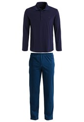 Hom Jim Pyjamas Navy Dark Blue