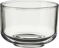 Cb2 Roundish Glass Mini Bowl