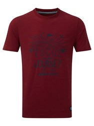Tog 24 Galaxy Mens T Shirt Focus Print Red