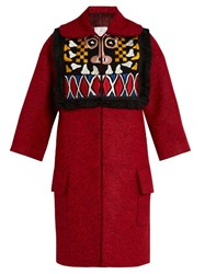 Stella Jean Pregare Embroidered Coat