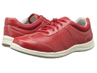 Rockport Walk Together T Toe Red Berry Nappa Women's Shoes