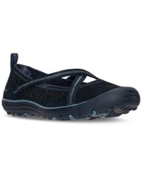 Skechers Women's Relaxed Fit Sustainability Casual Flats From Finish Line Navy