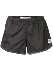 Robinson Les Bains Logo Patch Swim Shorts Black