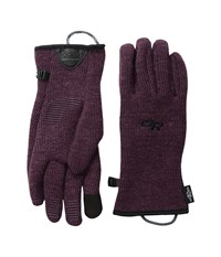 Outdoor Research Flurry Sensor Gloves Pinot Extreme Cold Weather Gloves Red