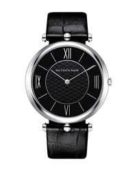 Pierre Arpels Platine Watch 38Mm Van Cleef And Arpels White