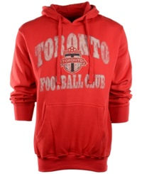 G3 Sports Men's Toronto Fc Fleece Hoodie Red