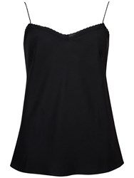 Ted Baker Scallop Edge Layer Cami Top Black