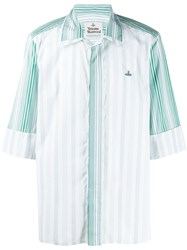 Vivienne Westwood Sunset Striped Cotton Shirt 60
