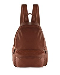 Brunello Cucinelli Leather Backpack Brown
