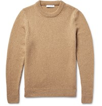 Sandro Wool Blend Sweater Cael Camel