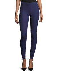 Joseph Gabardine Stretch Leggings Blue