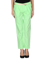 Franklin And Marshall Casual Pants Acid Green