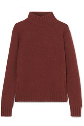 a59ceae8789 J.Crew Isabel Knitted Turtleneck Sweater Brown