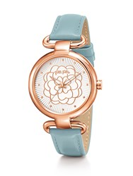 Folli Follie Santorini Flower Classy Light Blue Watch