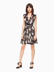 Kate Spade Dusk Floral Mya Dress Black