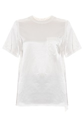 Alexander Wang T Shirt With Distressed Back