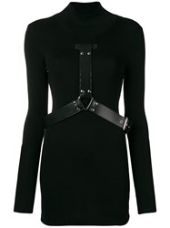 Alyx Turtleneck Knit Dress Black