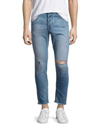 One Teaspoon Mr. Blues Whiskered Distressed Jeans