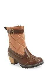 Jambu Women's 'Dover' Water Resistant Boot Brown Tan Leather