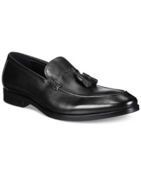Alfani Men's Declan Leather Tassel Loafers Only At Macy's Men's Shoes Black