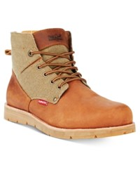 Levi's Men's Jax Hemp Boots Men's Shoes Khaki