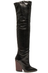 Iro Leather Evina Boots In Black