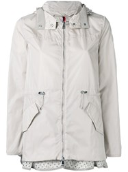 Moncler Lotus Hooded Jacket Nude Neutrals