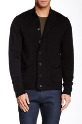 Report Collection Long Sleeve Cardigan Black