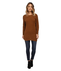 Burton Camden Sweater Java Heather Women's Sweater Brown