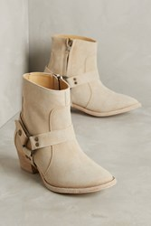 Anthropologie Farylrobin Zinc Harness Boots Neutral