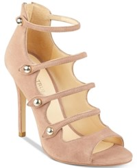 Ivanka Trump Houston Strappy Sandals Women's Shoes Blush