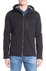 Men's Nau 'Rebound' Regular Fit Zip Hooded Jacket Caviar