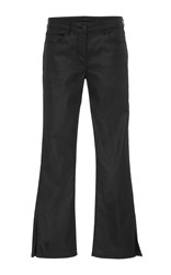 3X1 W2 Cropped Flare Pants Black