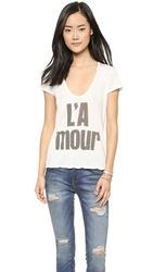 Sol Angeles L'amour Tee White