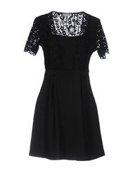 Miss Miss By Valentina Short Dresses Black