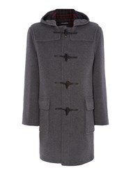Gloverall Classic Duffle Coat Grey