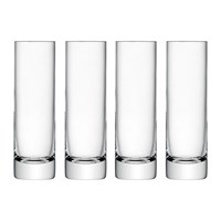 Lsa International Bar Long Drink Glasses Set Of 4