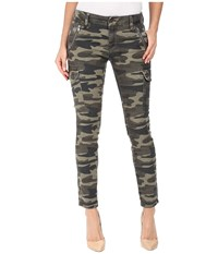 Mavi Jeans Juliette Skinny Cargo In Military Camouflage Military Camouflage Women's Multi
