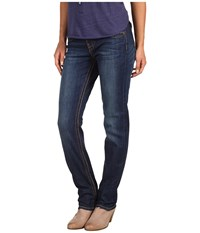Kut From The Kloth Stevie Straight Leg In Gratitude Gratitude Women's Jeans Navy