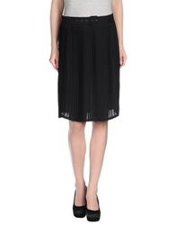 Gerard Darel Knee Length Skirts Black