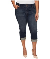 Lucky Brand Plus Size Emma Crop Jeans In Abyss Abyss Women's Jeans Navy