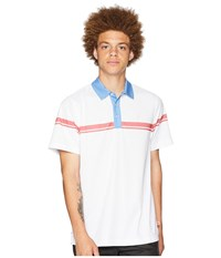 Toes On The Nose Onshore Short Sleeve Polo Rivera Short Sleeve Knit Blue