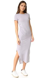 Stateside Short Sleeve Dress Silver