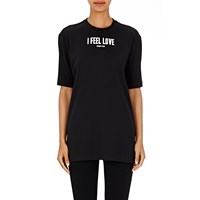 Givenchy I Feel Love' T Shirt Black