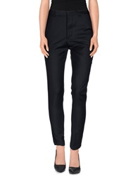 Minimal Casual Pants Dark Blue