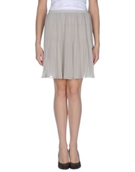 Fairly Knee Length Skirts Light Grey
