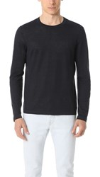 Theory Lemair Linen Sweater Eclipse